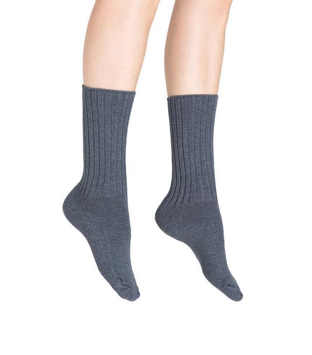 Hue Ribbed Boot Sock