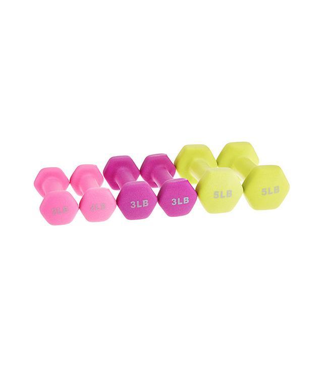 lightweight dumbbells