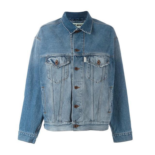 Off-White Stonewashed Denim Jacket