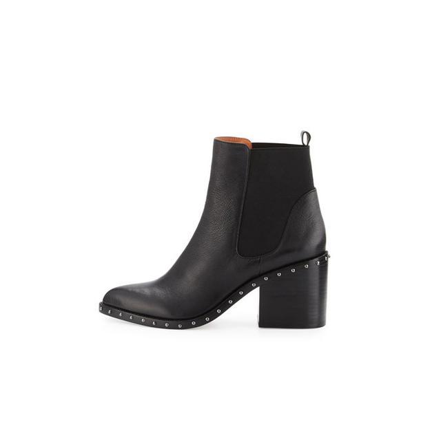 10 Crosby Derek Lam Renee Leather Ankle Boot