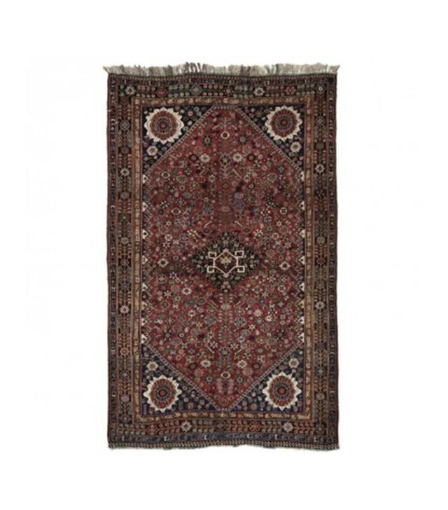 "ABC Home Antique Qashqai Wool Rug 4'6""x7'6"""