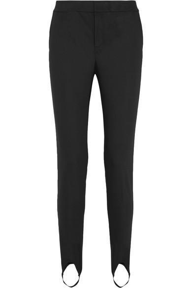 Helmut Lang Stretch-Jersey Slim-Leg Stirrup Pants