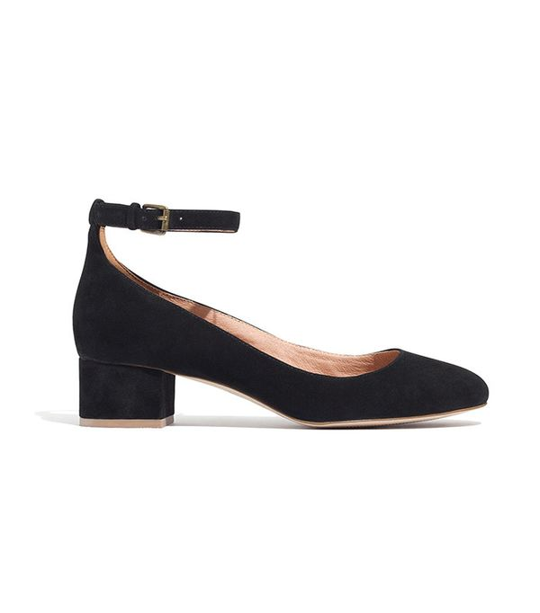 Madewell The Inez Ankle-Strap Shoes