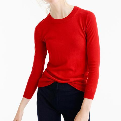 Tippi Sweater in Dark Poppy