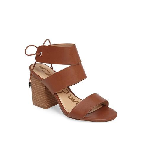 Valerie Block Heel Sandal