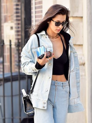 Skinny-Jean Haters Will Love This Bella Hadid Look