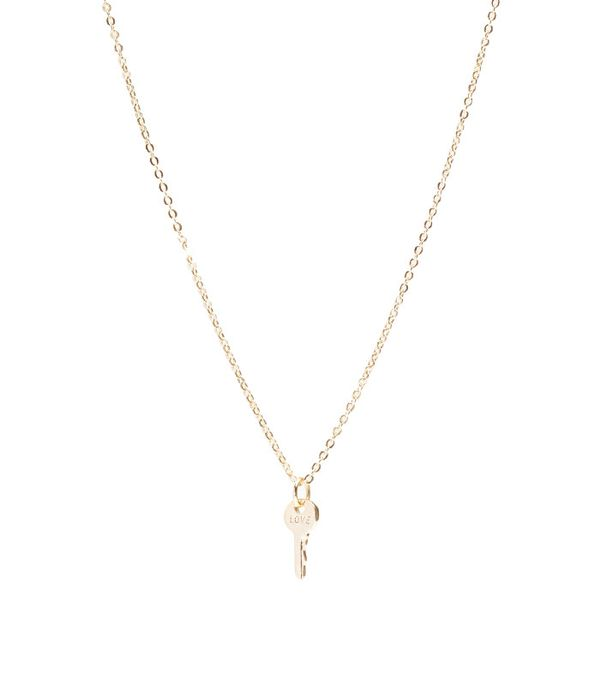 The Giving Keys Mini Key Necklace