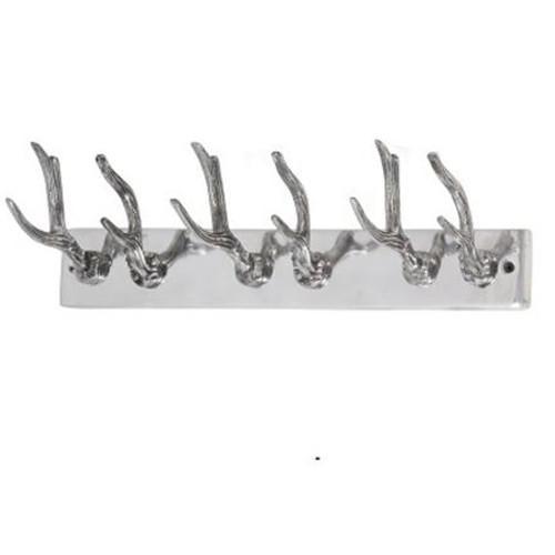 Trouva Aluminium Antler Coat Hooks