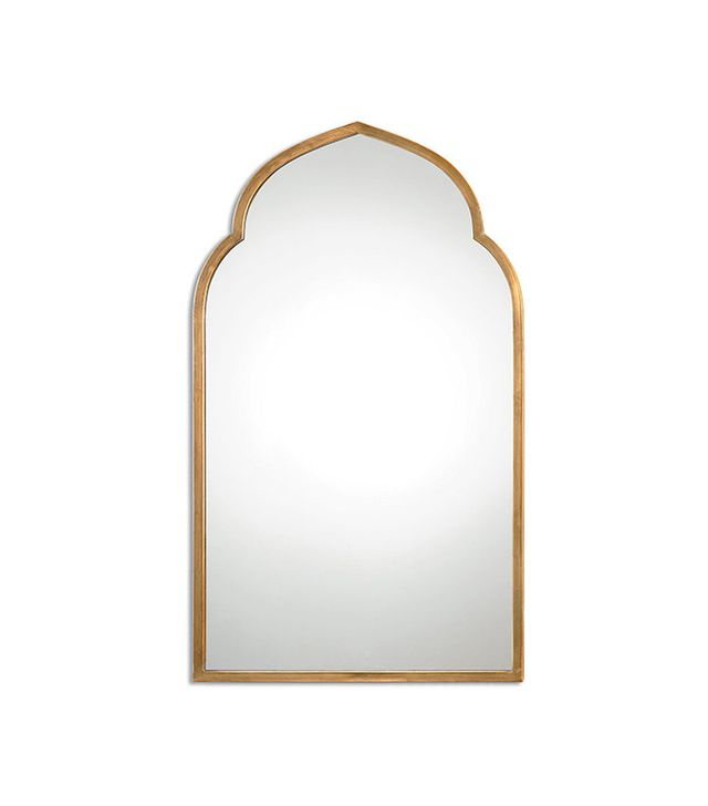 Uttermost Gold Arch Wall Mirror