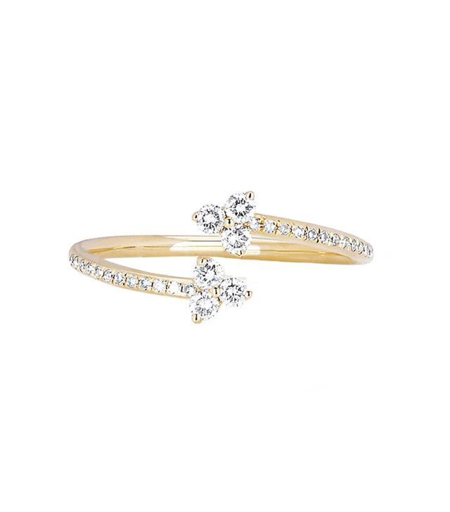 EF Collection Diamond Trio Twist Ring