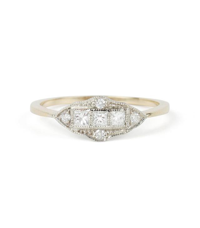 1909 by Erica Weiner Machine Age Ring