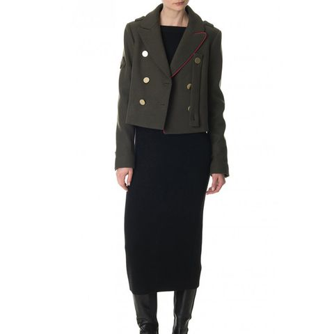 Admiral Cropped Peacoat