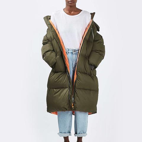 Glow Worm Puffer Jacket