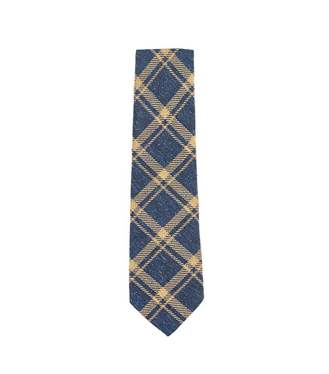 Billy Reid Silk & Wool Check Tie