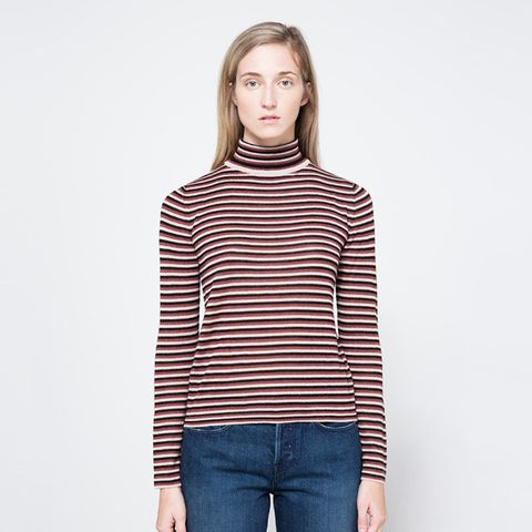 Susannah Stripey Turtleneck
