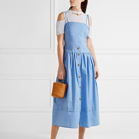Issy Chambray Midi Dress