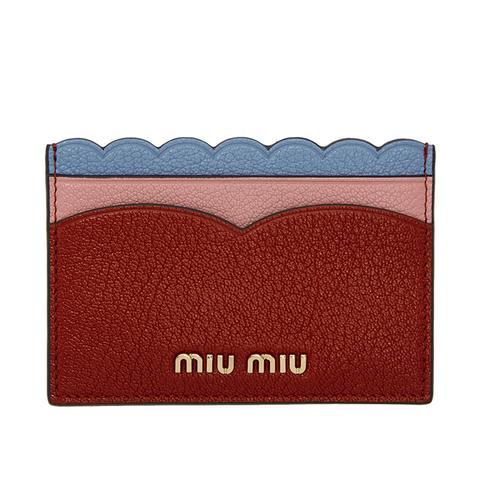 Tricolor Heart Logo Card Holde