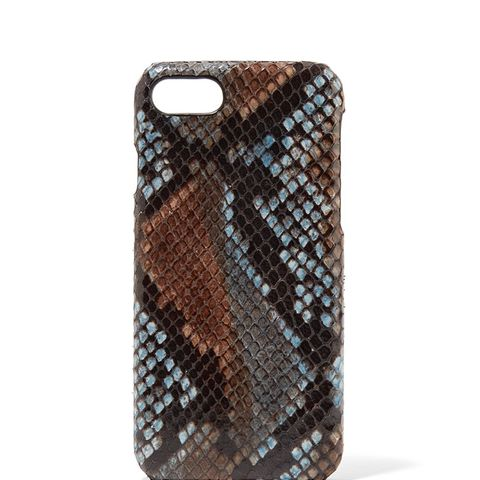 Python-Effect Leather iPhone 7 Case