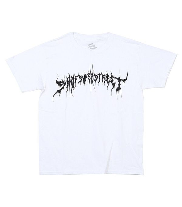 Shop Super Street SS White Tee