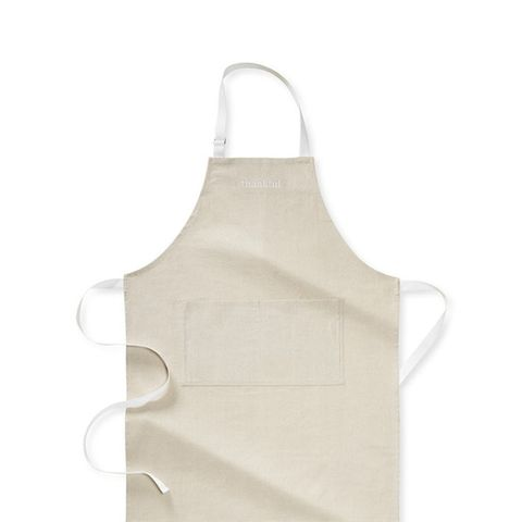 Thankful Embroidered Apron