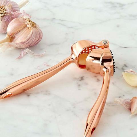 Copper Garlic Press