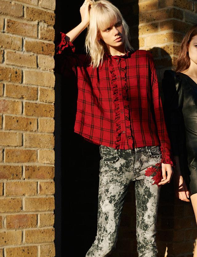 Zara Tie-Dye Jeans($60)