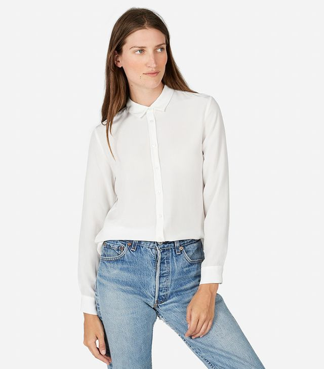 Everlane The Slim Silk Shirt