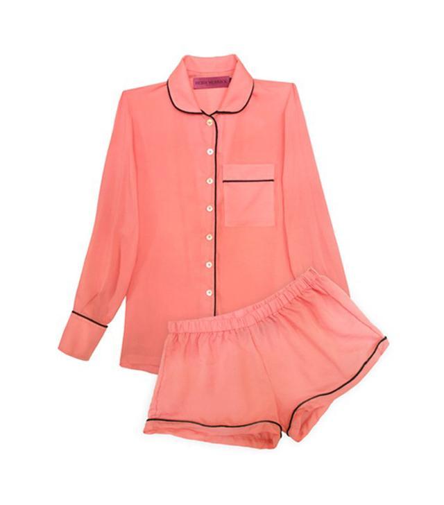 Heidi Merrick Melon PJ Pajama Short Set