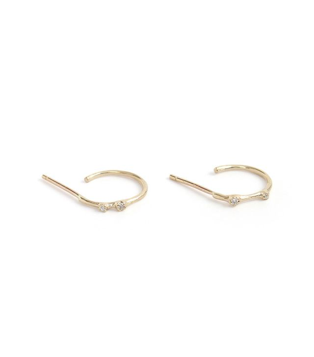 N + A Bitty Beautiful Hoop Earrings