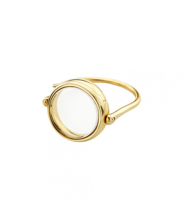 Loquet Medium Round Ring