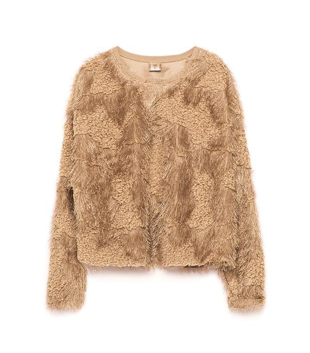 Zara Soft Faux Fur Sweater