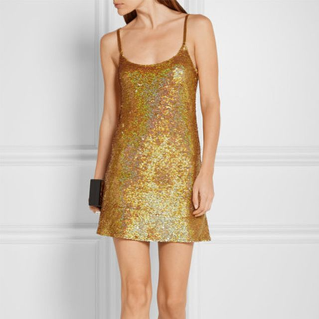 Zara Shimmer Jacquard Dress