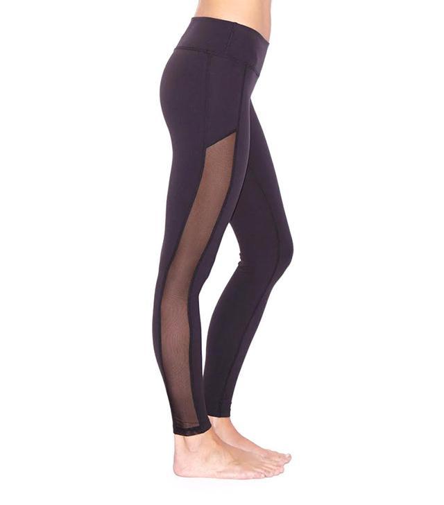 Beyond Yoga Crystal Mesh Long Leggings