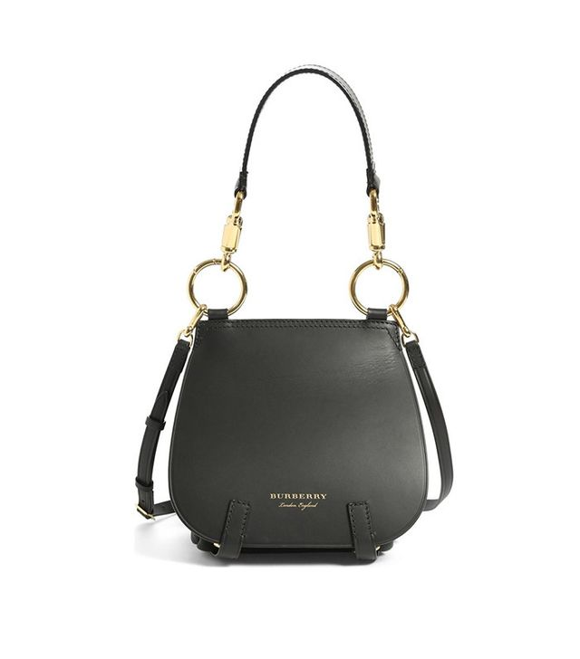 Burberry Runway Bridle Grainy Leather Satchel