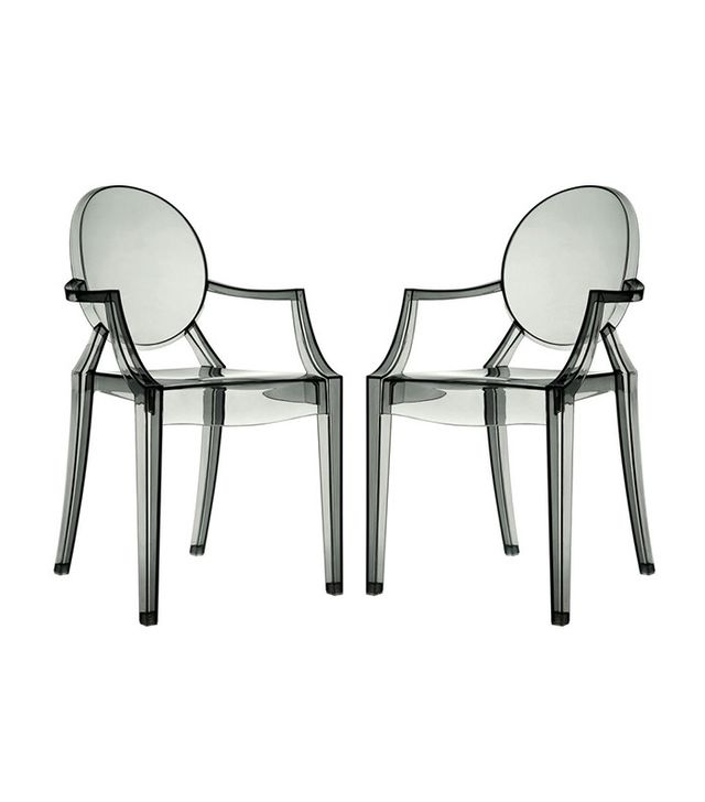 Modway Casper Stackable Dining Arm Chairs Set of 2