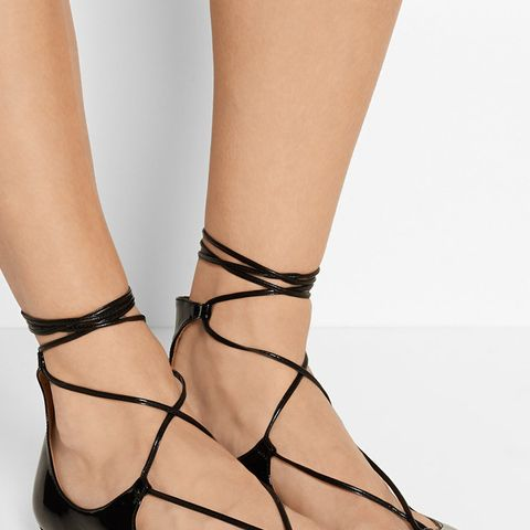 Christy Patent-Leather Flats