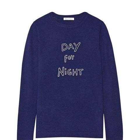 Day for Night Embroidered Sweater