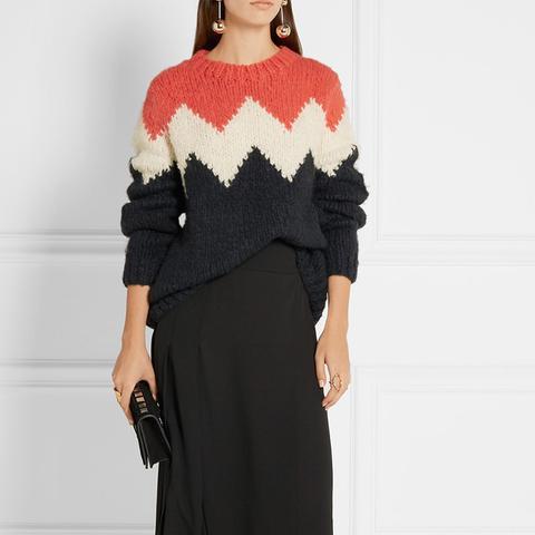 Alfie Intarsia Yak Sweater