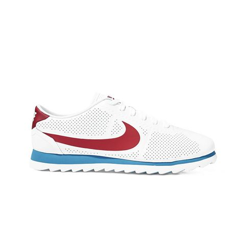 Cortez Ultra Moire Perforated Leather Sneakers