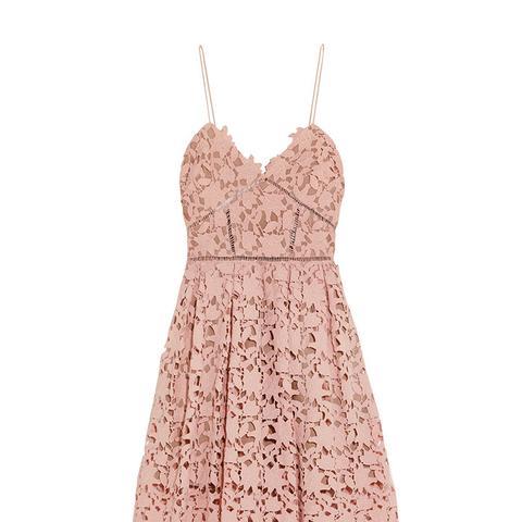 Azalea Guipure Lace Dress