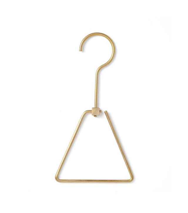 Chiba Metal Works & Design Triangle Brass Hanger