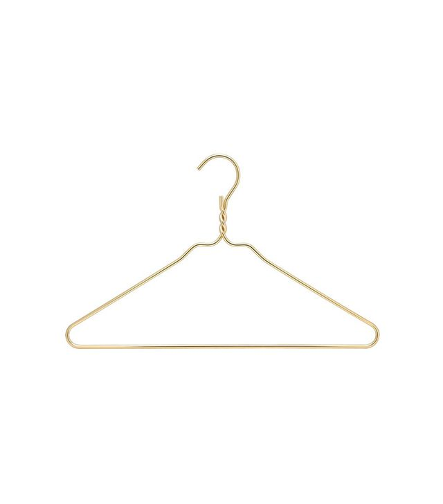 RDM Gold Coat Heavy Duty Hangers, Set of 10