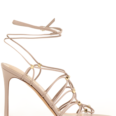 Rockstud Gladiator Lace-Up Heel