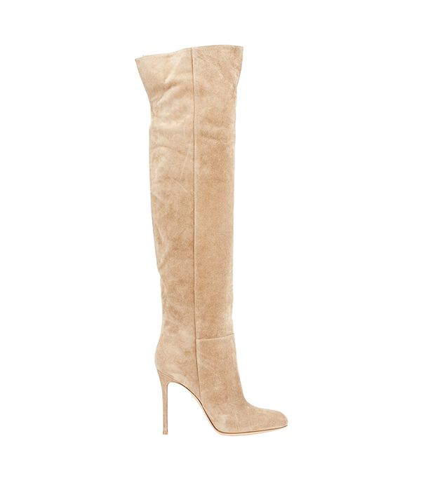 Women's Suede Over-The-Knee Boots