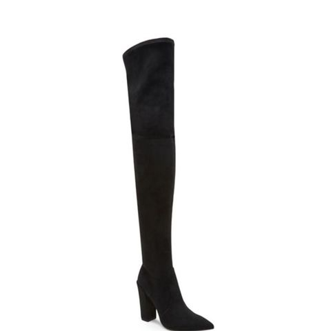 Emmy Suede Over-the-Knee Boots