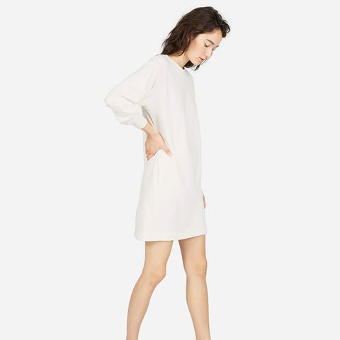The Classic French Terry Crew Neck Dress