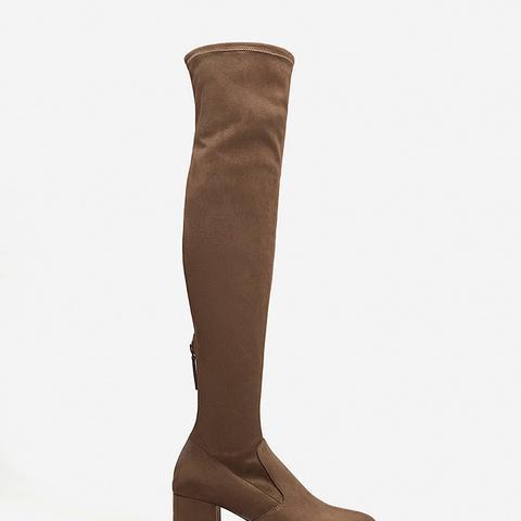 Over-the-Knee Heel Boots