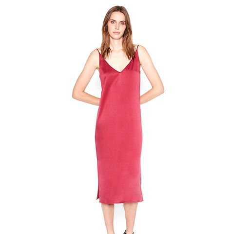 Anika Satin Slip Dress