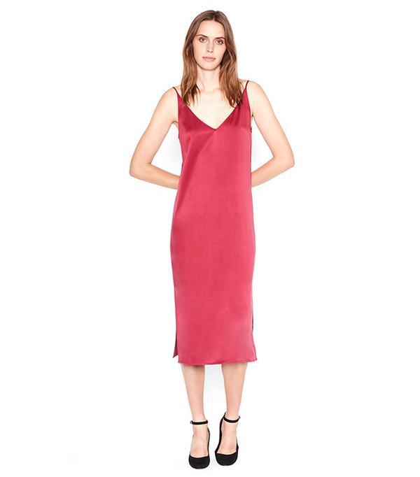 Equipment Anika Satin Slip Dress