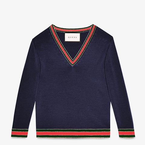 Merino Wool Knit Top